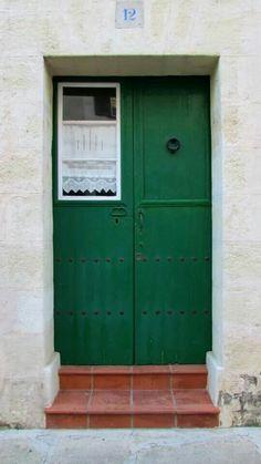 Puerta de Alaior. Menorca Menorca, Ibiza, Lockers, Locker Storage, Sweet Home, World, Life, Home Decor, The World