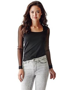 Black, sleek, mesh & soft