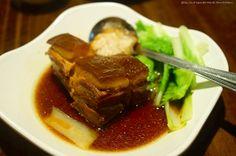 #封肉,口感滿足。@喫飯食堂 Pork braised in brown sugar #Food #Taiwan