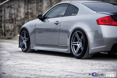 G35 Coupe | IC-S5 Matte Gunmetal (by Incurve Wheels)
