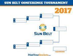 Sun Belt Conference Tournament Bracket 2017