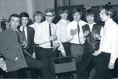 Phil Spector & Gene Pitney & Andrew Loog Oldham & The Rolling Stones at the 'Not Fade Away' sessions London 1964 by bp fallon, via Flickr