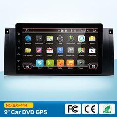 "Android 6.0.1 Quad Core GPS Navigation 9"" Car DVD Player for BMW E39 #Affiliate"
