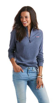 74317a88f496 Shop Women s Quarter Zip   Pullovers at vineyard vines