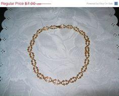 Sale Avon vintage goldtone neckchain chain by vintagebyrudi