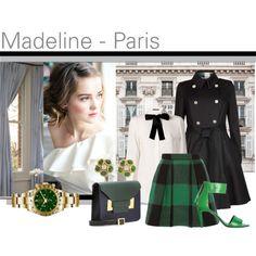 """French School Girl : Madeline"" by melange-art on Polyvore"