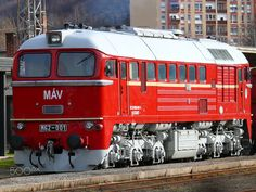Hungarian State Railways M62-001 Sergei Diesel Locomotive by DxcMc