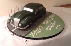 Vintage car cake made for my Dad's 80th