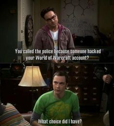 I feel your pain Sheldon!