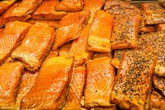 Our popular smoked salmon TRIO gives you 22 generous ounces of pure goodness, packed in heat sealed pouches. No refrigeration needed until pouches are opened.Recipes included.