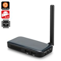 http://andnykstore.com/ugoos-um3-tv-box.html The Ugoos UM3 TV Box has an Android 4.4 + Ubuntu operating system, a RK3288 28nm Cortex-A17 Quad Core CPU, 2GB of RAM as well as 8GB of Internal Memory. There are so many Android TV boxes on the market that it has become difficult to differentiate, so Ugoos has decided to support not only Android 4.4 like all their competitors, but also Ubuntu, and they've provided an alpha release of dual boot Android / Ubuntu images for Ugoos UM3 models...