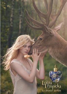Elle Fanning for Lolita Lempika! Best scent ever.