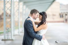 Kate + Kory | Wedding Ceremony & Reception. Photos by The Siners Photography. #IndianaStateMuseum