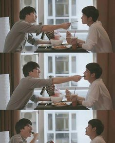 Sotus S the series Kongpob - Arthit Drama Series, Tv Series, Bad Romance, Cute Gay Couples, Thai Drama, Book Tv, Korean Celebrities, Best Couple, Fujoshi