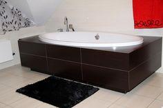 Łazienkowe czarne dywaniki