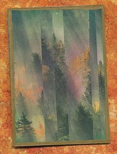 altered art use postcards or Christmas cards?