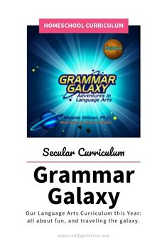 Finding secular language arts curriculum is harder than I would have expected. I did find one that does not, which is where Grammar Galaxy comes into play. How To Teach Grammar, Teaching Grammar, Teaching Language Arts, Abeka Homeschool, Homeschooling Resources, Art Curriculum, Writing Skills, Blogging, Mom Funny