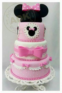 Minie y mickey torta Pinterest