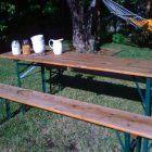 Beer Garden Tables