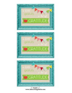 Easy Teacher Appreciation Gift Idea *FREE PRINTABLE*