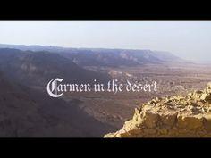 #Carmen at #Masada, #Israel #opera #show #song #dance #desert