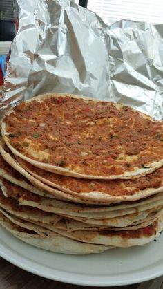 Turkish Lahmancun / Turkish Pizza