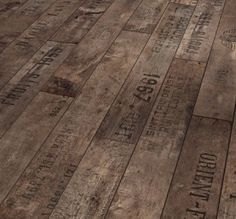 wine crate floor- NEED to show this to my mom and dad