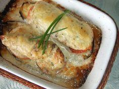 Solomillitos de pollo rellenos de queso