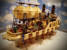 Lego induces happiness...at least in me, and especially when combined with steam punk and star wars.