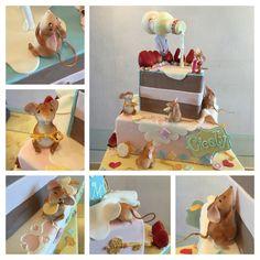 Alice's Wonderland Birthday Cake