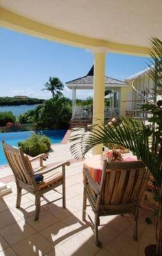 Beachfront villa for sale in L'Anse aux Epines, Grenada.