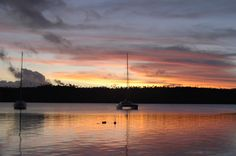 The end of another beautiful day in Neiafu, Vava'u, Tonga