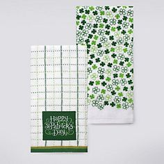 Celebrate St. Patrick's Day Together Kitchen Towel 2-pk.