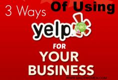 Yelp is a trusted business review tool used by many people before they decided which restaurant to eat at or which company to do business with. Consider using it for your business today! #macswomen #business #success