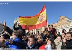 Saludos del Papa Francisco a españoles, tras el ángelus del domingo 15 de marzo de 2015