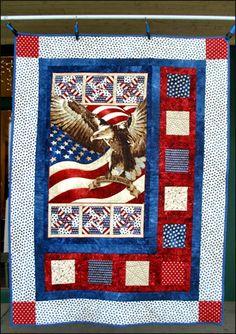flag of valor quilt pattern | sidelights quilt of valor