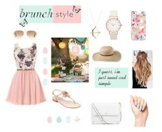 """""""Sweet and Simple."""" by xxrhianxx on Polyvore featuring Marc Fisher, L.L.Bean, Ray-Ban, Tory Burch, Sydney Evan and Casetify"""