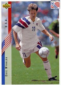RARE 1994 UPPER DECK WORLD CUP SOCCER ERIC WYNALDA USA TEAM MINT #USA