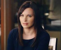 Jill Flint---I like her hair.   But would have to add some color