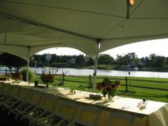 Wedding Table Ideas - Bay Front Lobster Bake