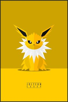 Favourite pokemon characters designed by vector artist and created minimal poster design for inspiration. The evolution of pokemon with their different powers and style of action.