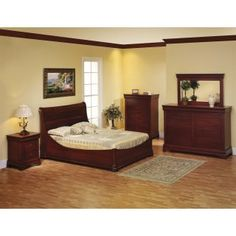 Amish Bedroom Furniture Solid Wood In Kansas Pine Custom