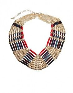 Striking necklace for this season…
