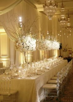 Wedding Reception Inspiration - Photo: Dominique Fierro