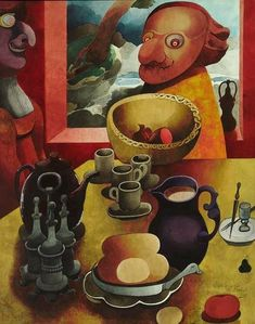 Nice to track down a not often seen #EdwardBurra painting