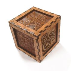 Doctor Who The Moment wooden lidded box by Warpzone Prints LLC