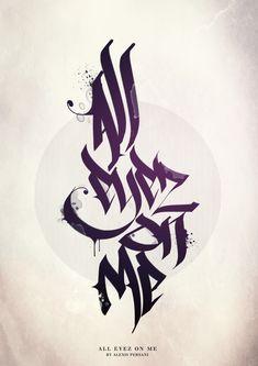 /// Calligraphie II /// by Alexis Persani, via Behance