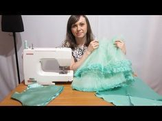 Best clothes for kids girls skirt tutorial ideas Baby Frock Pattern, Frock Patterns, Baby Girl Dress Patterns, Dress Sewing Patterns, Girls Dresses Sewing, Sewing Baby Clothes, Dresses Kids Girl, Flower Girl Dresses, Baby Tutu Dresses