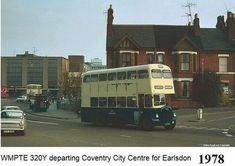 Coventry City, Photographs And Memories, West Midlands, Commercial Vehicle, Old Trucks, Coaches, Buses, Past, Pictures