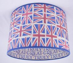 union jack lamp shade